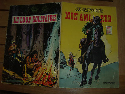 jerry spring tome 15 mon ami red en EO 1965 / jije / dupuis