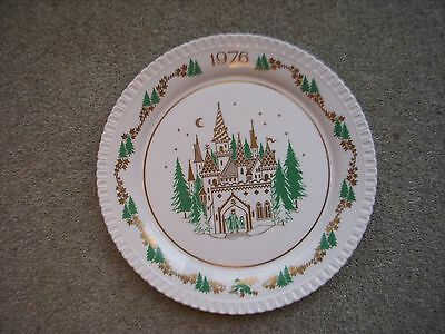 Spode Christmas Plate 1976 (Seventh in Series)