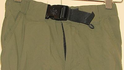 Boy Scout BSA Official Green Switchback Convertible Pants Youth Small