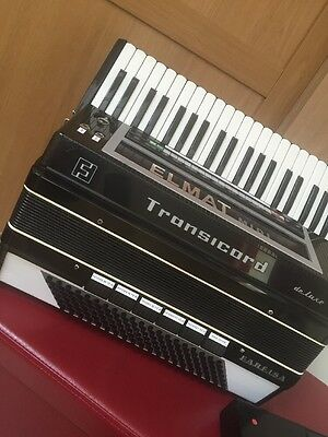 Reed less Midi Accordion  Light Weight in Black