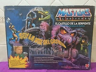 Snake Mountain Motu He-Man Spanish Spain New In Box Unopened¡¡¡