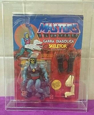 Skeletor Terror Claws Motu He-Man Spanish Spain New Sealed Unopened