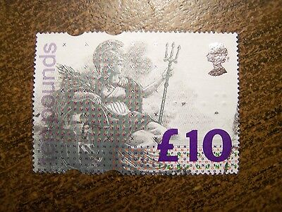 Great Britain UK Britannia £10 High Value # 1478, 1993 Issue - Free Shipping