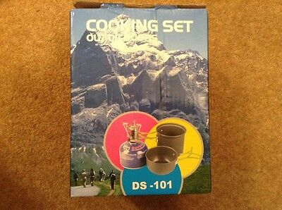 Outdoors cooking set for camping or backpacking