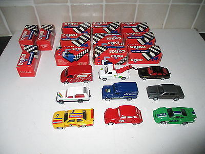 Collection Of Corgi Vehicles