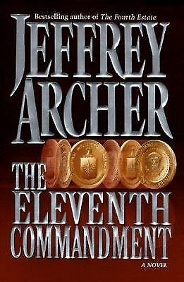 The Eleventh Commandment by Jeffrey Archer-1998 1st Edition Hardcover
