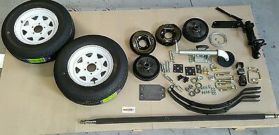Trailer kit box trailer car trailer motorbike trailer  quad trailer boattrailer