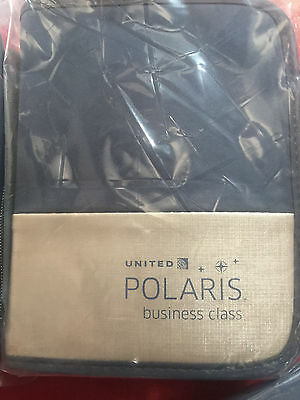 1 UNITED AIRLINES POLARIS BUSINESS CLASS Amenity Kit - New, sealed