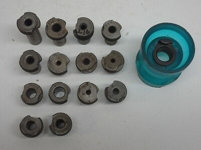 """14 Fractions Drill Bushings 1/2"""" ID Slip Fit with Drill Egg Cup"""