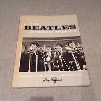 The Beatles concuer America a photographic record of first tour