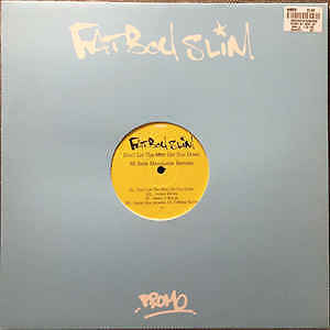 Fatboy Slim - Don't Let The Man, Rare Promo, Mint Condition!!!