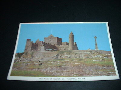 IRELAND  POSTCARD THE ROCK OF CASHEL Co TIPPERARY