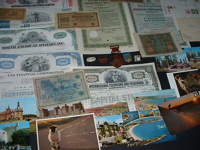 Original 35 Old Items As In Pictures Combined Postage (B1)Bonds,medals Etc.