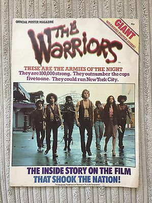 The Warriors Poster , Magazine