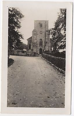 Real Photo Postcard Unknown Location Where ? Unidentified Church