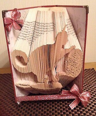 Book Folding  Pattern (combi Cut And Fold Only) Playful Cat
