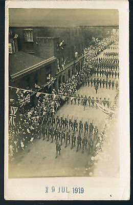 Gales Studios Ww1 Victory Parade 19Th July 1919 -Tommy's March Through Town