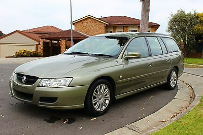 2004 Holden Commodore VZ Wagon - DUAL FUEL