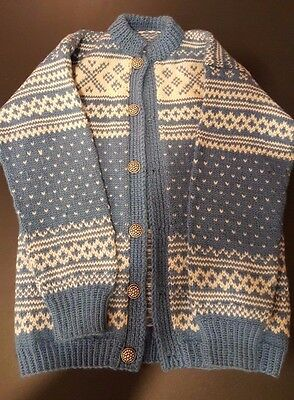 Norwegian Professionally Hand Knitted youth sized Sweater.  Knitted in Norway!!!