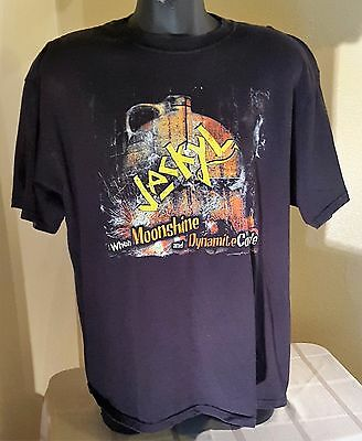 "Jackyl ""When Moonshine and Dynamite Collide"" Shirt Size 2X  Black"