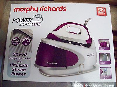 Murphy Richards steam generator iron.