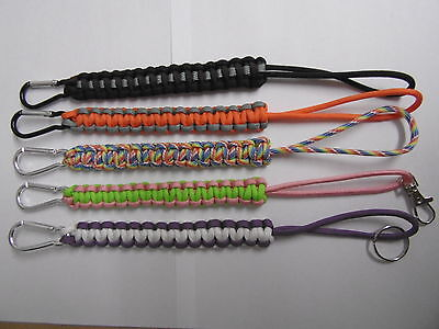 550 / 7 strand (3 ply) snowboard leash choose your variations