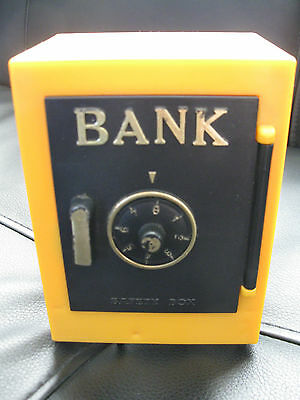 Vintage Bank--SH 8512-- Has Alarm!--Cool Item to Own