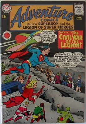 Adventure Comics #333 (1965) starring Superboy and the Legion of Super Heroes!