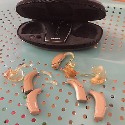 Phonak Hearing Aid Set With Remote Controll