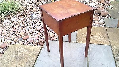Vintage Sewing Box Side Table