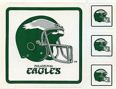 Philadelphia Eagles Team Issue Vintage Sticker 1990's  Mint Condition