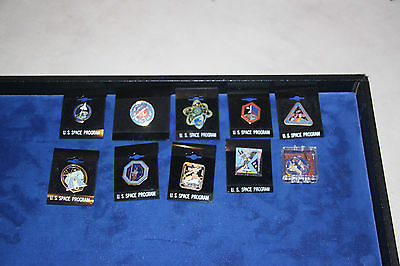 NASA Lot 10 Space Shuttle Atlantis/Challenger/Columbia/Discovery/Endeavour Pins