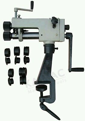 Bench mounted Rotary machine bead roller fabrication