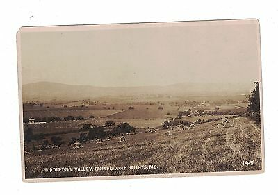Postcard Middletown Valley From Braddock Heights, Md.