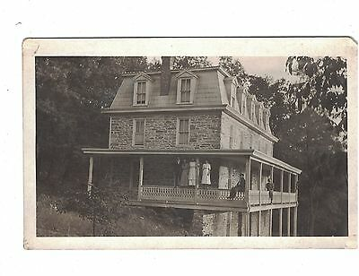 Postcard & Picture of Black Rock Hotel South Mountain Near Myersville Md.