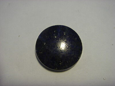 Lapis Lazuli Gemstone Round Cabochon Cut 14 mm 5 Carat Natural Gem