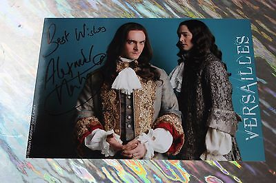 Alexander Vlahos (Versailles) Signed Cast Photo