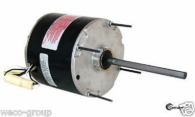 Fh1036  1/3 Hp, 1075 Rpm, 2 Speed, New Century Ao Smith Electric Motor