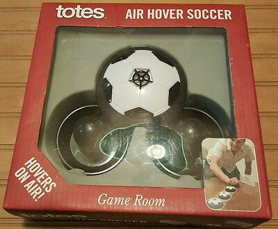 Tote's ~Air Hover Soccer Tabletop Game~New In Box! 2010!!