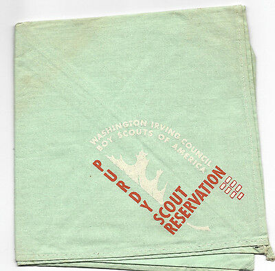 Purdy Scout Reservation Washington Irving Council Neckerchief [NY401]