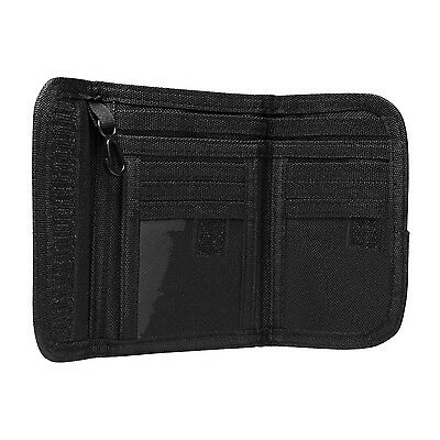 NcStar CAWLT2983B BLACK Law Enforcement Tactical Military Police Bifold Wallet