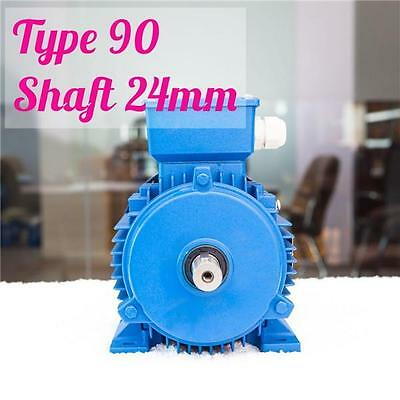 1.5kw 2.0HP 2800rpm shaft 24mm Electrical motor Three-phase 415v