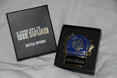 A GOOD DAY TO DIE HARD - Promotional Bottle Opener. Presentation Box