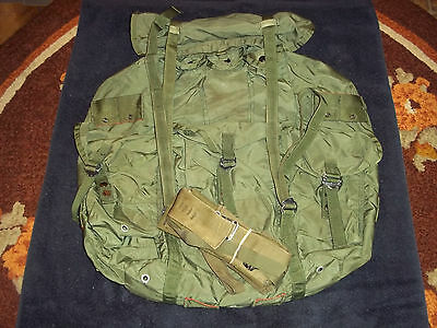 Us Army Lc-1 Alice Pack Large Combat Nylon No Frame But With Straps