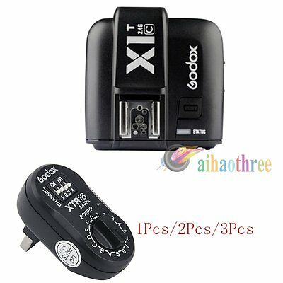 Godox X1T-C TTL HSS 1/8000s Flash Trigger Transmitter + XTR16 Receiver For Canon