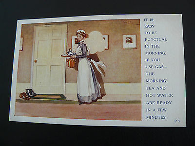 The Reading Gas Co Advertising Postcard