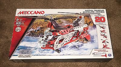 Meccano Air Rescue Helicopter New In Sealed Box
