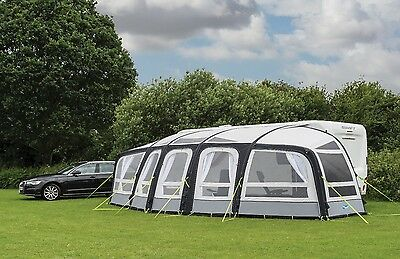 Kampa Frontier Air Pro Large Inflatable Caravan Awning - 2017 Model