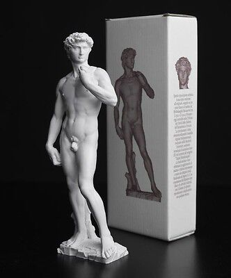"Michelangelo Buonarroti Statue: ""David"" di Michelangelo 25 cm - Made in Italy"