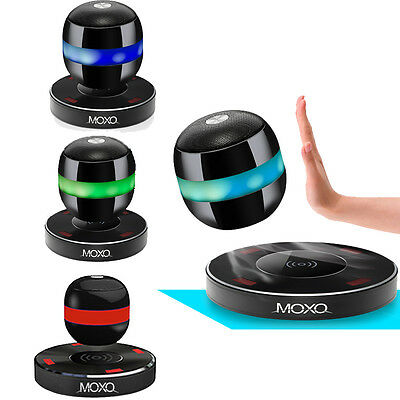 MOXO-2 Magnetic Wireless Bluetooth Speakers Levitation Floating Orb LED Portable